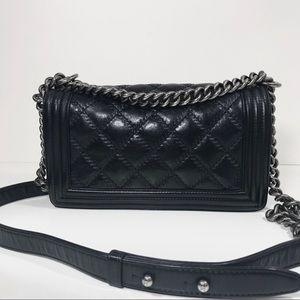 98c167854df4 CHANEL Bags - HOLD Chanel old medium le boy leboy double stitch
